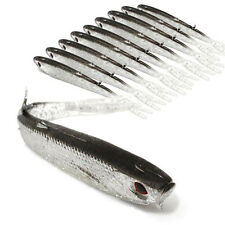 10PCS 75mm 2.2g Soft Fishing Lure Tiddler Swimbait Artificial Bait Tackle Minnow