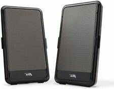 Cyber Acoustics  USB Portable 2-Piece Speaker System Black