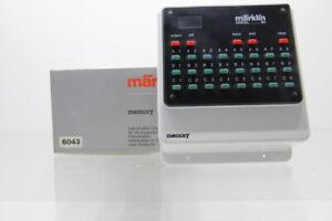 H0 Märklin 6043 Fahrstraßen-Stellpult memory digital +OVP..J58