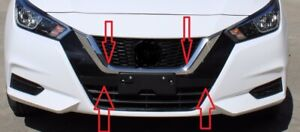 Nissan Versa 2020 Genuine Front Grille Bumper S AND SV OEM 62070-5EE0A