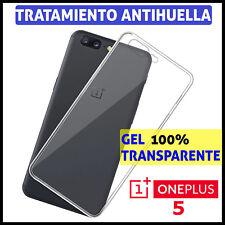 FUNDA TPU DE GEL SILICONA 100% TRANSPARENTE PARA ONEPLUS 5 CARCASA