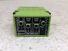 Tele PW 380V 04X Voltage Monitor Relay PW 380V O4X PW380VO4X PW380V04X