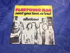 "FLEETWOOD MAC (7"" 45 SINGLE) ALBATROSS [1972 CBS DIFF PS **GERMAN PRESS] EX"