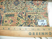 Green Blue Abstract Patchwork Print Fabric / Upholstery Fabric  1 Yard  R154