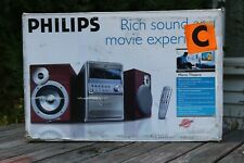PHILLIPS MICRO THEATER RICH SURROUND SOUND DIGITAL CONTROL 50w MCD515 NEW IN BOX