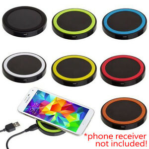 QI Wireless Charging Charger Pad For iPhone Samsung Galaxy S9 S9+ LG Nexus Nokia