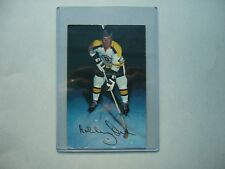 EARLY 1970`S NHL HOCKEY PHOTO BOBBY ORR AUTHENTIC OR FACSIMILE AUTOGRAPH AUTO