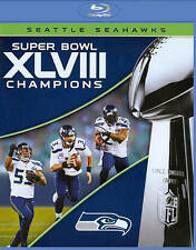 Seattle Seahawks Super Bowl XLVIII NFL Football Champions Blu-Ray Disc 2014
