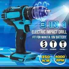 """Perforadora percutora inalámbrica 1/2"""" impacto eléctrica cuerpo para 18V Makita Batería DHP484Z"""