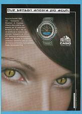 BELLEU000-PUBBLICITA'/ADVERTISING-2000- CASIO PRO TREK PRT - 70NB