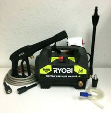 Ryobi RY141612 Electric Pressure Washer 13-Amp 1600PSI 1.2 GPM w/3 Nozzles AS030