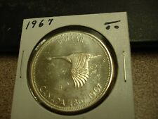 1967 - Canada dollar - Silver - Canadian $1 coin