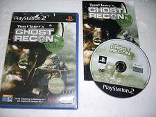 GIOCO PLAYSTATION 2 TOM CLANCY'S GHOST RECON  - PS2 CUSTODIA E GIOCO E MANUALE