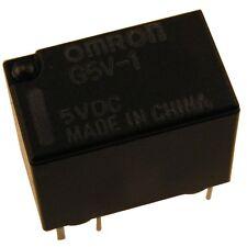 OMRON G5V1-5 Relais 5V DC 1xUM 1A 167R Relay for Signal Circuits 854070