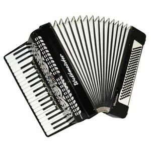Amazing Weltmeister Caprice 120 Bass, made in Germany Accordion Straps Case 1635