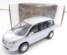 """Peugeot 807 Gris 1/64 """"3 Inche"""" Diecast NOREV Produit NEUF !!"""