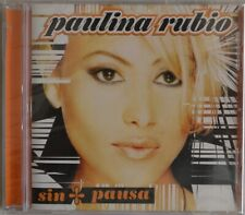 Paulina Rubio - sin pausa - CD NEW! FREE SHIPPING!