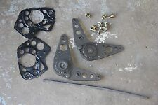 Volvo 240 front seat folding brackets  latches - pair