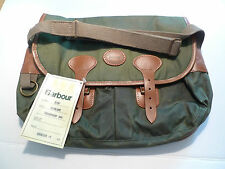 BARBOUR- B700  HIGHLAND WAXED COTTON THORNPROOF BAG-NEW OLD STOCK WITH TAG