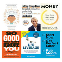 Mindfulness & Meditation,So Good,Getting Things Done,Life Leverage 6 Books NEW