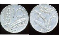 ITALIE   ITALY  10 lire 1954  ( bis )