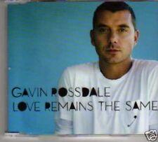 (187M) Gavin Rossdale, Love Remains the Same - DJ CD