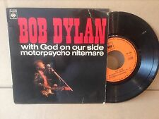BOB DYLAN EP 6266 CBS god on our side EXC-