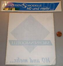 Sachsenmodelle H0 and more 2 Pcs Sticker Window stickers Advertising material å