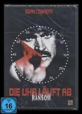 DVD DIE UHR LÄUFT AB - RANSOM - Action-Thriller mit SEAN CONNERY *** NEU ***