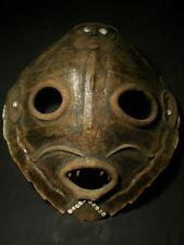 Cabinet de Curiosité : Exceptionnel Masque Fon , Somba