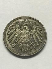 1912-J Germany 1 Pfennig VF #12003