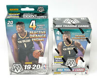 2019-20 Panini Mosaic Basketball Blaster Box + Hanger Box lot NEW Zion Ja RC Yr