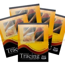 150 ct TRACING PAPER PAD 9x12 Quality Sketch Book Pencil Drawing Art Overlay C29