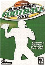 Season Ticket Football 2003 (PC, 2002)