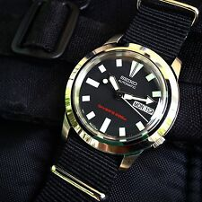 Seiko 5 Skx173 Mini Diver Mod Snkk27 Automatic Steel Watch Skx007