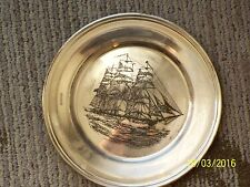 Uss Constellation, by S.Kirk&son 175th anniversary sterling silver 925.