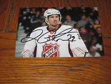 LOGAN COUTURE AUTOGRAPHED SAN JOSE SHARKS 4X6 ALL STAR PHOTO #
