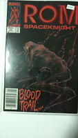 MARVEL 54 ROM SPACEKNIGHT BLOOD TRAIL…High Grade Comic Book K2-243