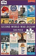 SECOND WORLD WAR JIGSAW - 500 PIECE - IMPERIAL WAR MUSEUM (IWM) WWII CLASSIC