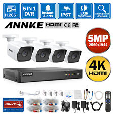 ANNKE 4k Video 8ch 8mp DVR CCTV Outdoor 5mp Camera Home Security TVI System Ip67