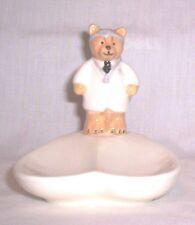 Spoon Rest C415 106.1567.1 Ceramic Doctor Bear Spoon Rest