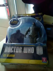 DOCTOR WHO SERIES 7 ICE WARRIOR FIGURE SEALED BRAND NEW. Box 23
