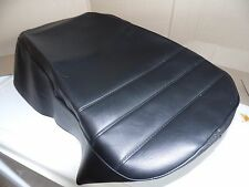 Kawasaki   Seat Covers for ER , EX , GPZ , Z750 .Black with 3 front weld lines