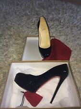 Christian Louboutin Women's Patent Leather Bianca Black Size 40/2
