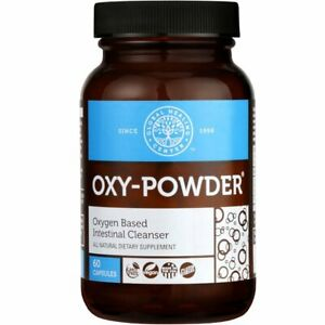 OxyPowder Colon Cleanse & Natural Laxative Occasional Constipation Relief Pills