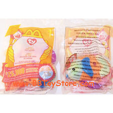 TY McDonald's Teenie Beanie - #1 LIPS the Fish (2000) (4.5 inch) - Sealed in Bag