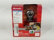 New Microsoft HD Web Cam. Lifecam VX-3000 Call Button Windows Live Messenger