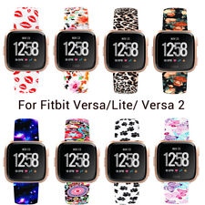 For Fitbit Versa/Lite/Versa 2 Replacement Soft Silicone Sport Wrist Band Strap