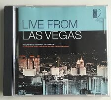 Live From Las Vegas The Centennial Collection CD Rat Pack, Sinatra, King Cole ++