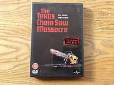 Texas Chainsaw Massacre Dvd! Look At My Other Dvds!
